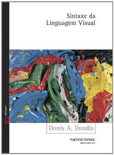Capa do livro Sintaxe da Linguagem Visual