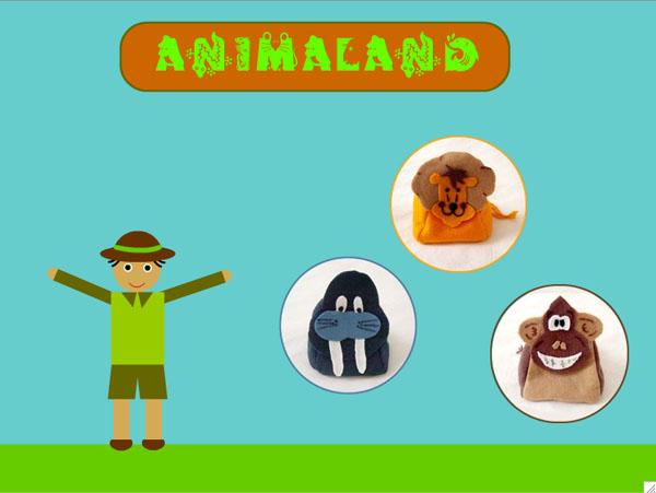 Animaland, um game com interface tangível