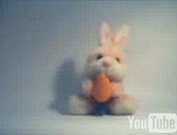 Coelhinho com a cenoura