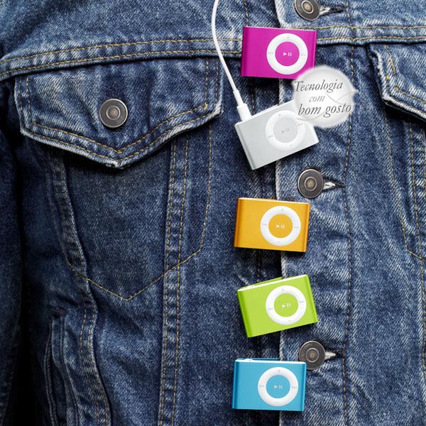 Ipod Shuffle coloridos