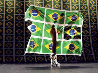 cartaz do festival de dança Samba do Crioulo Doido em Berlim